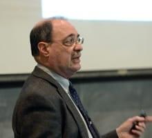 Professor Charles F. Manski delivered the 2013-2014 Ely Lecture Series
